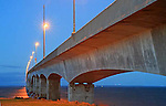 Confederation Bridge, Prince Edward Island, Canada,