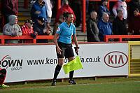 Assistant ref Lisa Rashrord during Stevenage vs Bury, Sky Bet EFL League 2 Football at the Lamex Stadium on 9th March 2019
