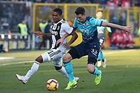 Douglas Costa Juventus and Hans Hateboer Atalanta<br /> Bergamo 26-12-2018  Stadio Atleti Azzurri d'Italia <br /> Football Campionato Serie A 2018/2019 <br /> Atalanta - Juventus<br /> Foto Cesare Purini / Insidefoto