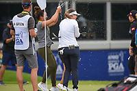 Hannah Green (AUS) celebrates after winning the 2019 KPMG Women's PGA Championship, Hazeltine National, Chaska, Minnesota, USA. 6/23/2019.<br /> Picture: Golffile | Ken Murray<br /> <br /> <br /> All photo usage must carry mandatory copyright credit (© Golffile | Ken Murray)