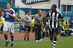 Carlisle United 1 Newcastle United 1, 21/07/2007. Brunton Park, Pre-season Friendly. Carlisle United's manager Neil McDonald shouting instructions during his team's pre-season friendly against Newcastle United at Cumbrian's Brunton Park ground. The match ended one goal each with Newcastle equalising Danny Livesey's opener through Nolberto Solano in the last minute. During the 2007-08 season Carlisle played in League One, English football's third tier, while Newcastle were a top Premiership team. Photo by Colin McPherson.