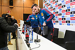 Lucas Vazquez and Saul Niguez during Spain press conference a few days before soccer match between Spain and Argentina in Madrid , Spain. March 24, 2018. (ALTERPHOTOS/Borja B.Hojas)