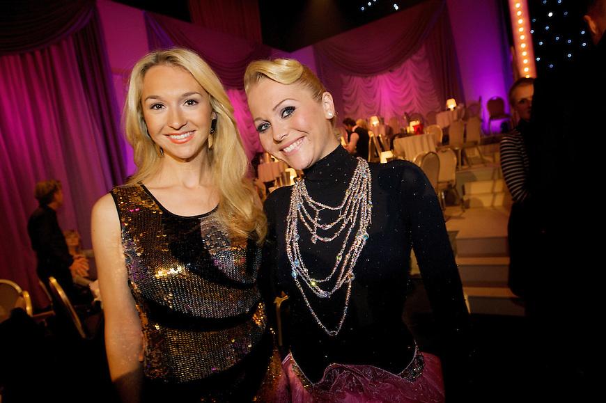 Oslo, 20091017. Skal vi danse. Pia Haraldsen og Gyda B Thorsen.
