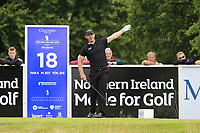 Scott Henry (SCO) tees off the 18th tee during Sunday's Final Round of the Northern Ireland Open 2018 presented by Modest Golf held at Galgorm Castle Golf Club, Ballymena, Northern Ireland. 19th August 2018.<br /> Picture: Eoin Clarke | Golffile<br /> <br /> <br /> All photos usage must carry mandatory copyright credit (&copy; Golffile | Eoin Clarke)
