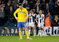 Leeds United's Pablo Hernandez shows his dejection as West Bromwich Albion score another goal<br /> <br /> Photographer David Shipman/CameraSport<br /> <br /> The EFL Sky Bet Championship - West Bromwich Albion v Leeds United - Saturday 10th November 2018 - The Hawthorns - West Bromwich<br /> <br /> World Copyright © 2018 CameraSport. All rights reserved. 43 Linden Ave. Countesthorpe. Leicester. England. LE8 5PG - Tel: +44 (0) 116 277 4147 - admin@camerasport.com - www.camerasport.com