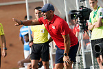 Rayo Vallecano's coach Paco Jemez during friendly match. July 13,2018. (ALTERPHOTOS/Acero)