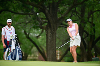 Dori Carter (USA) chips on to 2 during round 3 of  the Volunteers of America Texas Shootout Presented by JTBC, at the Las Colinas Country Club in Irving, Texas, USA. 4/29/2017.<br /> Picture: Golffile | Ken Murray<br /> <br /> <br /> All photo usage must carry mandatory copyright credit (&copy; Golffile | Ken Murray)