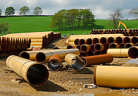 Pipeline near Skipton.