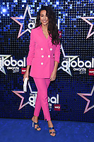 LONDON, UK. March 07, 2019: Michelle Keegan arriving for the Global Awards 2019 at the Hammersmith Apollo, London.<br /> Picture: Steve Vas/Featureflash