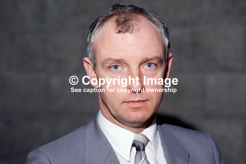 Denis Myles, manager, Belfast Enterprise Zone, N Ireland, UK, 19840041DM..Copyright Image from Victor Patterson, 54 Dorchester Park, Belfast, UK, BT9 6RJ..Tel: +44 28 9066 1296.Mob: +44 7802 353836.Voicemail +44 20 8816 7153.Skype: victorpattersonbelfast.Email: victorpatterson@me.com.Email: victorpatterson@ireland.com (back-up)..IMPORTANT: If you wish to use this image or any other of my images please go to www.victorpatterson.com and click on the Terms & Conditions. Then contact me by email or phone with the reference number(s) of the image(s) concerned.