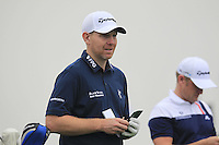 Stephen Gallacher (SCO) on the 2nd tee during Thursday's Round 1 of the 2014 BMW Masters held at Lake Malaren, Shanghai, China 30th October 2014.<br /> Picture: Eoin Clarke www.golffile.ie