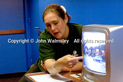 Road Safety officer gives atalk.  Safety Experience Day to give hands on experience of safety situations: stranger danger, fire, accidents, danger of train tracks,  someone in the water and telephone callers.  Held at the Spectrum Leisure Centre, Guildford by local Emergency Services personnel.   State primary school..
