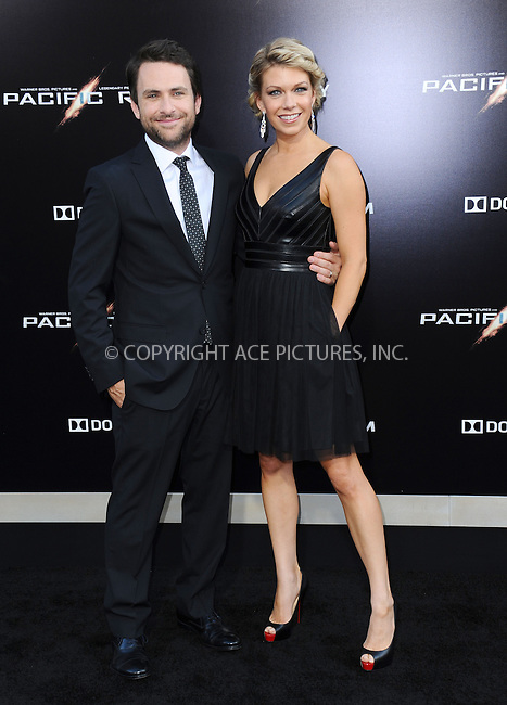 WWW.ACEPIXS.COM<br /> <br /> <br /> July 9, 2013, Los Angeles, CA.<br /> <br /> Charlie Day and Mary Elizabeth Ellis arriving at the premiere of Warner Bros. Pictures' &amp; Legendary Pictures' 'Pacific Rim' held at Dolby Theatre on July 9, 2013 in Hollywood, California<br /> <br /> <br /> <br /> <br /> By Line: Peter West/ACE Pictures<br /> <br /> ACE Pictures, Inc<br /> Tel: 646 769 0430<br /> Email: info@acepixs.com