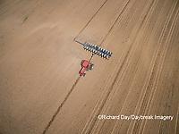 63801-10113 Farmer planting corn-aerial Marion Co. IL