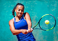 Hilversum, Netherlands, August 6, 2018, National Junior Championships, NJK, Warda Alt El Bachir (NED)<br /> Photo: Tennisimages/Henk Koster