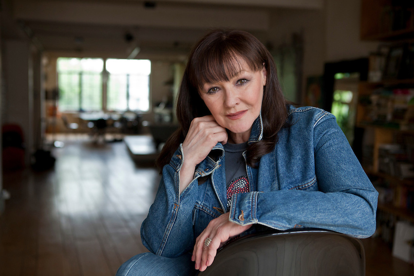 Frances Barber, film, stage and television actor, at her home in London.