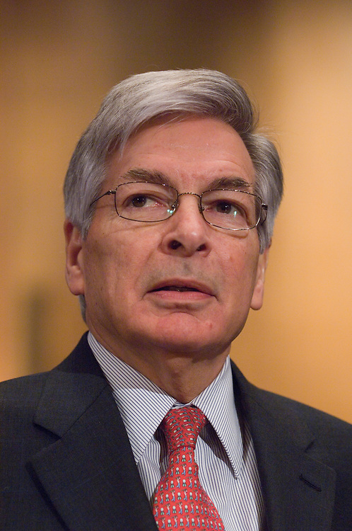 "David Seiders, of the National Association of Home Builders, testifies during the Senate Finance Committee hearing on ""The Real Estate Market: Building a Strong Economy,"" on Thursday, Feb. 28, 2008."