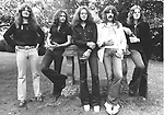 Deep Purple 1973 Glenn Hughes, Ritchie Blackmore, Ian Paice, Jon Lord, David Coverdale.© Chris Walter.