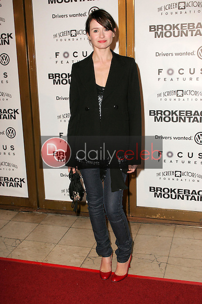 """Emily Mortimer<br />at the premiere of """"Brokeback Mountain"""". Mann National Theatre, Westwood, CA. 11-29-05<br />Dave Edwards/DailyCeleb.com 818-249-4998"""