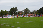 biarritz. pais vasco. rugby<br /> rugby match during the rugby french league, 02-03-14<br /> En la imagen :<br /> drop pour garner le match<br /> photocall3000 / rme