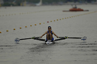 Poznan, POLAND.  2006, FISA, Rowing, World Cup, FIN LW2X,  bow Sanna STEN,  and Minna NIEMINEN, move  away from  the  start, on the Malta  Lake. Regatta Course, Poznan, Thurs. 15.05.2006. © Peter Spurrier   .[Mandatory Credit Peter Spurrier/ Intersport Images] Rowing Course:Malta Rowing Course, Poznan, POLAND