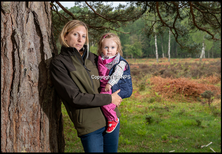 BNPS.co.uk ()1202 558833)<br /> Pic: PhilYeomans/BNPS<br /> <br /> Commoner Erica Dovey(37) and daughter Bella.<br /> <br /> A David and Goliath struggle is developing in the ancient New Forest between its Commoners, whose rights date back to the 13th century, and Forestry England.<br /> <br /> A public body has been accused of threatening the future of the New Forest by charging 'extortionate' rents to young commoners who help to maintain it.<br /> <br /> Forestry England has come under fire for charging full market rents on 65 Crown properties which, for over a century, have been set aside for commoners, the group of people with ancient rights to graze ponies and cattle in the Hampshire national park.<br /> <br /> Monthly rents which ranged from £300 to £500 have shot up to between £1,450 and £2,000, making them 'completely unaffordable' for commoners, it is claimed.<br /> <br /> As a result, it is feared a 'whole generation' of young commoners will be forced to leave the forest, with 'lasting consequences' for the conservation of the precious landscape.<br /> <br /> The rent increases have been imposed despite the government stipulating they could only be set at 15 per cent of a commoners' monthly income in the Illingworth Report (1992), according to the New Forest Commoners Defence Association.