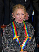 Natalia Makarova, one of the seven recipients of the 2012 Kennedy Center Honors, poses for a photo following a dinner hosted by United States Secretary of State Hillary Rodham Clinton at the U.S. Department of State in Washington, D.C. on Saturday, December 1, 2012.  The 2012 honorees are Buddy Guy, actor Dustin Hoffman, late-night host David Letterman, dancer Natalia Makarova, and the British rock band Led Zeppelin (Robert Plant, Jimmy Page, and John Paul Jones)..Credit: Ron Sachs / CNP