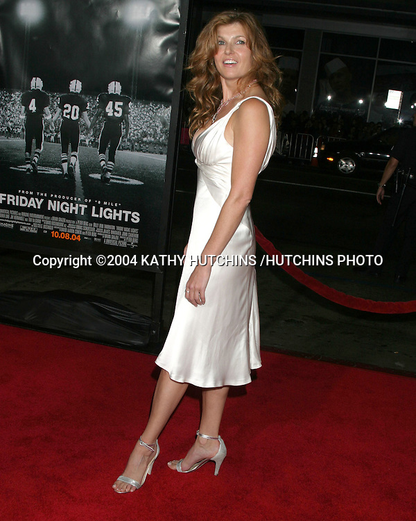 "©2004 KATHY HUTCHINS /HUTCHINS PHOTO.""FRIDAY NIGHT LIGHTS"" PREMIERE.Los Angeles, CA.OCTOBER 6, 2004..CONNIE BRITTON"
