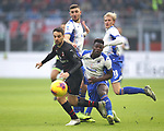Giacomo Bonaventura of AC Milan clashes with Julian Chabot and Ronaldo Vieira of Sampdoria  during the Serie A match at Giuseppe Meazza, Milan. Picture date: 6th January 2020. Picture credit should read: Jonathan Moscrop/Sportimage