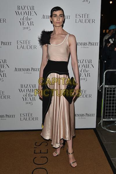 Erin O'Connor<br /> Harper's Bazaar Women of the Year 2015 awards,  Claridges Hotel n London, November 03, 2015.<br /> CAP/PL<br /> &copy;Phil Loftus/Capital Pictures