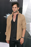 NEW YORK, NY - JULY 16:  Penn Badgley at 'The Dark Knight Rises' premiere at AMC Lincoln Square Theater on July 16, 2012 in New York City.  © RW/MediaPunch Inc.