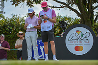 Tommy Fleetwood (ENG) looks over his tee shot on 2 during round 3 of the Arnold Palmer Invitational at Bay Hill Golf Club, Bay Hill, Florida. 3/9/2019.<br /> Picture: Golffile | Ken Murray<br /> <br /> <br /> All photo usage must carry mandatory copyright credit (&copy; Golffile | Ken Murray)