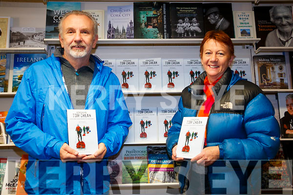 Bill Shepard with Aileen Crean O'Brien with the new book honouring Tom Crean.