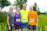 At the Rose of Tralee 10k in the Tralee Wetlands on Sunday were Aina Niggemann, Sandra Byrne, Andreas Schmitz and Stephan Byrne