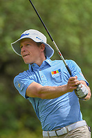 Peter Malnati (USA) watches his tee shot on 9 during day 4 of the Valero Texas Open, at the TPC San Antonio Oaks Course, San Antonio, Texas, USA. 4/7/2019.<br /> Picture: Golffile | Ken Murray<br /> <br /> <br /> All photo usage must carry mandatory copyright credit (© Golffile | Ken Murray)