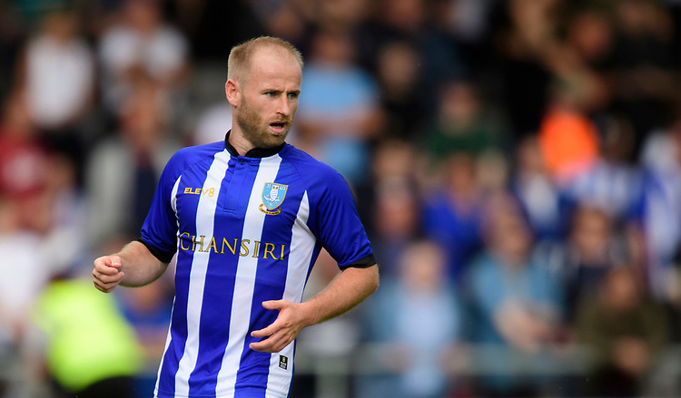 Sheffield Wednesday's Barry Bannan<br /> <br /> Photographer Chris Vaughan/CameraSport<br /> <br /> Football Pre-Season Friendly - Lincoln City v Sheffield Wednesday - Saturday July 13th 2019 - Sincil Bank - Lincoln<br /> <br /> World Copyright © 2019 CameraSport. All rights reserved. 43 Linden Ave. Countesthorpe. Leicester. England. LE8 5PG - Tel: +44 (0) 116 277 4147 - admin@camerasport.com - www.camerasport.com