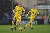 Fleetwood Town's Paddy Madden (left) and Jason Holt<br /> <br /> Photographer Kevin Barnes/CameraSport<br /> <br /> The EFL Sky Bet League One - Bristol Rovers v Fleetwood Town - Saturday 22nd December 2018 - Memorial Stadium - Bristol<br /> <br /> World Copyright &copy; 2018 CameraSport. All rights reserved. 43 Linden Ave. Countesthorpe. Leicester. England. LE8 5PG - Tel: +44 (0) 116 277 4147 - admin@camerasport.com - www.camerasport.com