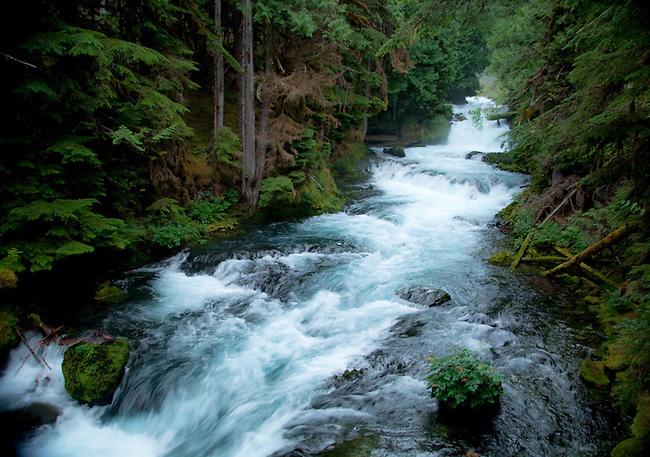 Sahalie Falls, Oregon