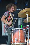The band Kithkin performs at Bumbershoot 2013 in Seattle, WA USA