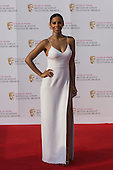 London, UK. 8 May 2016. Rochelle Humes. Red carpet  celebrity arrivals for the House Of Fraser British Academy Television Awards at the Royal Festival Hall.