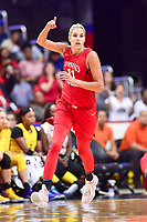 Washington, DC - August 17, 2018: Washington Mystics guard Elena Delle Donne (11) after connecting for a easy lay up during game between the Washington Mystics and Los Angeles Sparks at the Capital One Arena in Washington, DC. (Photo by Phil Peters/Media Images International)