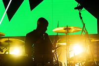 SÃO PAULO, SP, 01.09.2018 - SHOW-SP - Haroldo Ferretti,  Baterista da banda Skank durante show no Credicard Hall em São Paulo, na noite deste sábado, 01, (Foto: Anderson Lira/Brazil Photo Press)