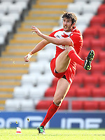 PICTURE BY VAUGHN RIDLEY/SWPIX.COM...Rugby League - International Friendly - England Knights v France - Leigh Sports Village, Leigh, England - 15/10/11…England's Stefan Ratchford.