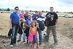 The Cole and Garry Families at the Combines for Charity Guinness Book of World Records Attempt...Photo NEWSFILE/Jenny Matthews.(Photo credit should read Jenny Matthews/NEWSFILE)....This Picture has been sent you under the condtions enclosed by:.Newsfile Ltd..The Studio,.Millmount Abbey,.Drogheda,.Co Meath..Ireland..Tel: +353(0)41-9871240.Fax: +353(0)41-9871260.GSM: +353(0)86-2500958.email: pictures@newsfile.ie.www.newsfile.ie.FTP: 193.120.102.198.