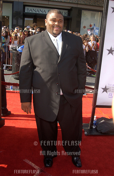 RUBEN STUDDARD at the 3rd Annual BET (Black Entertainment TV) Awards at the Kodak Theatre, Hollywood..June 24, 2003
