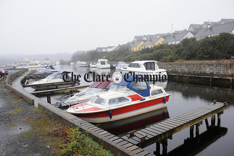 A view of the marina at Ballina, Killaloe. Photograph by John Kelly.