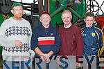 VINTAGE: Looking over the Vintage trashers at the Abbeydorney Vintage Rally on Sunday at Abbeydorney, l-r: Jamie Clifford (Beaufort), Ted O'Connell (Lixnaw), Con and Chris Heffernan (Ballyheigue).