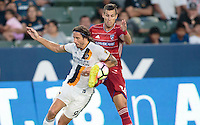 Carson, CA - August 10, 2016: The LA Galaxy take on FC Dallas in a 2016 Lamar Hunt U.S. Open Cup Semi Final match at StubHub Center.