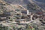 Berber village Atlas Mountains Morocco north Africa