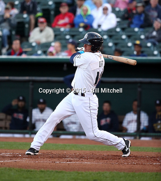 Pete Orr -2015 Colorado Springs Sky Sox (Bill Mitchell)